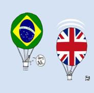 O PIB do Brasil tá com toda essa bola?